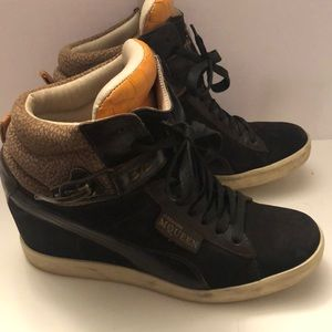 Alexander McQueen Puma high top sneakers